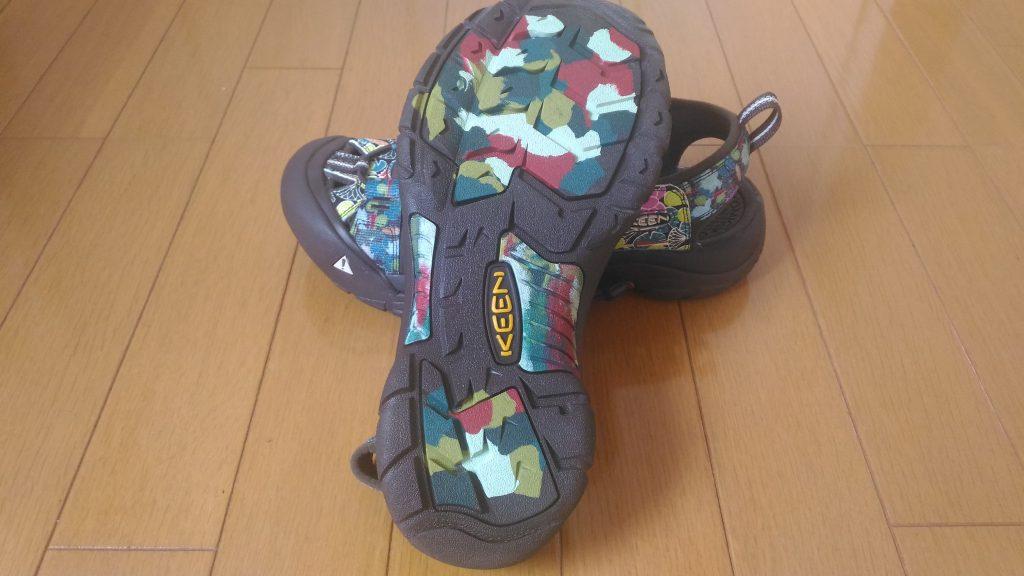 KEEN靴底