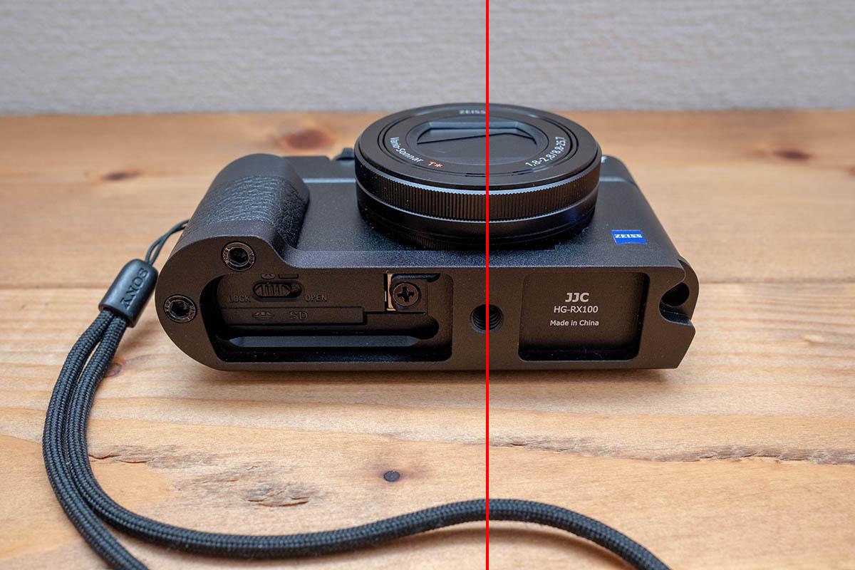RX100 グリップ 画像10